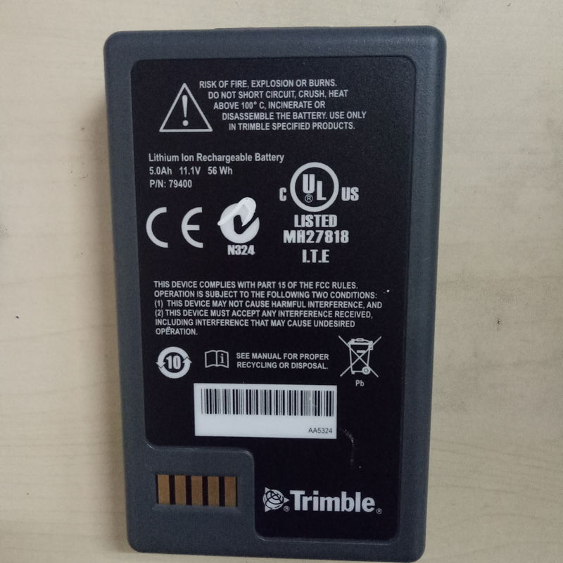 5000mah Lithium Ion Trimble Gps Battery 11.1v For S8 Total Station